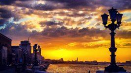 Il lungomare di Bari