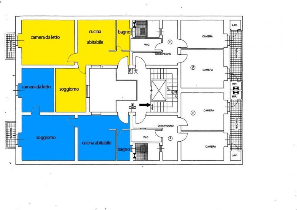 Emejing planimetria camera da letto contemporary design - Planimetria camera da letto ...