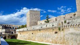 The Norman Svevo castle